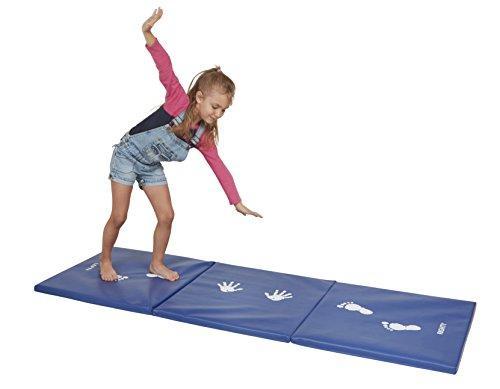 Cartwheel and Balance Beam Practice Mat- Blue
