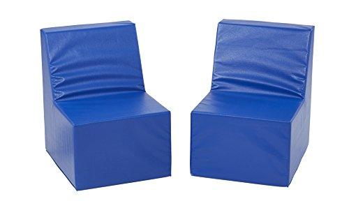 SoftZone® 2-Pack Toddler Chair - Blue