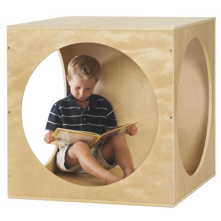 Birch Playhouse Cube