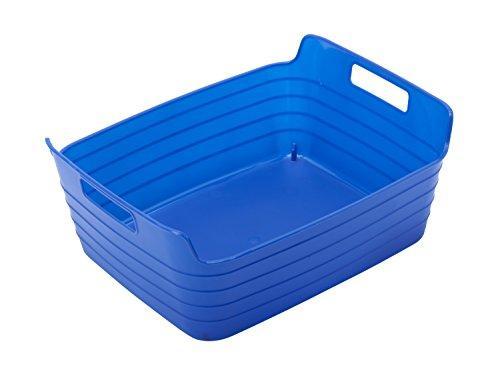 Medium Bendi-Bin with Handles - Blue - Set of 12