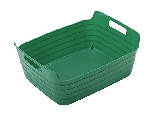 Medium Bendi-Bin with Handles - Green - Set of 12