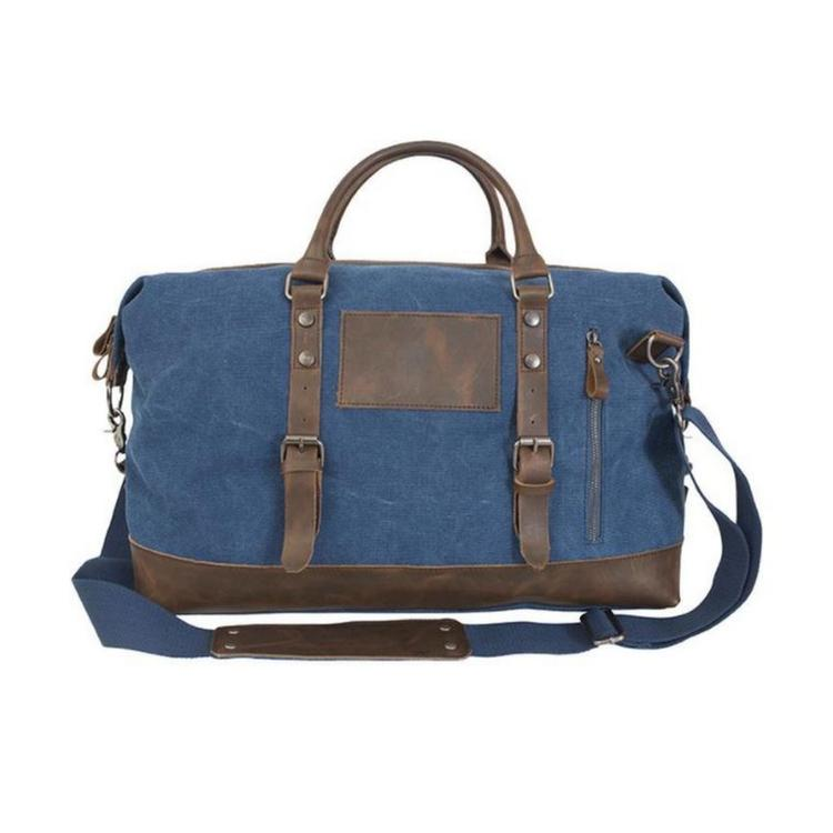Canyon Outback Ryker 18-inch Canvas and Leather Duffel Bag