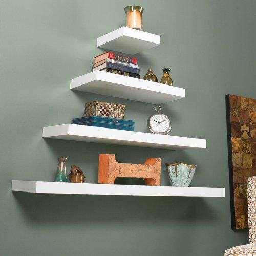 Chicago Floating Shelf White