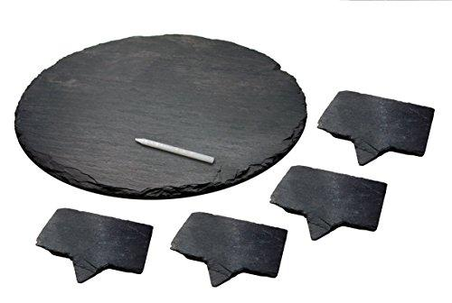 Epicureanist  Slate Cheese Markers