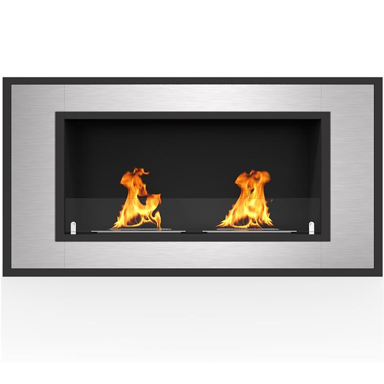 Regal Flame Cynergy 42 Inch Ventless Built In Wall Recessed Bio