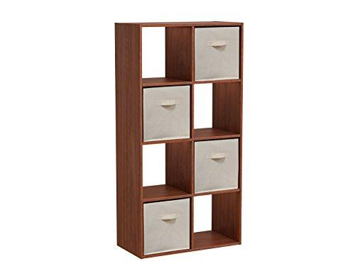 Homestar 8-Cube with Fabric Bins - Cherry Spice