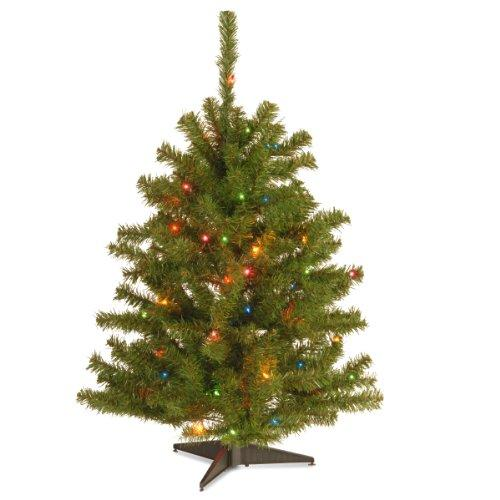 National Tree Eastern Spruce Tree with Multicolor Lights