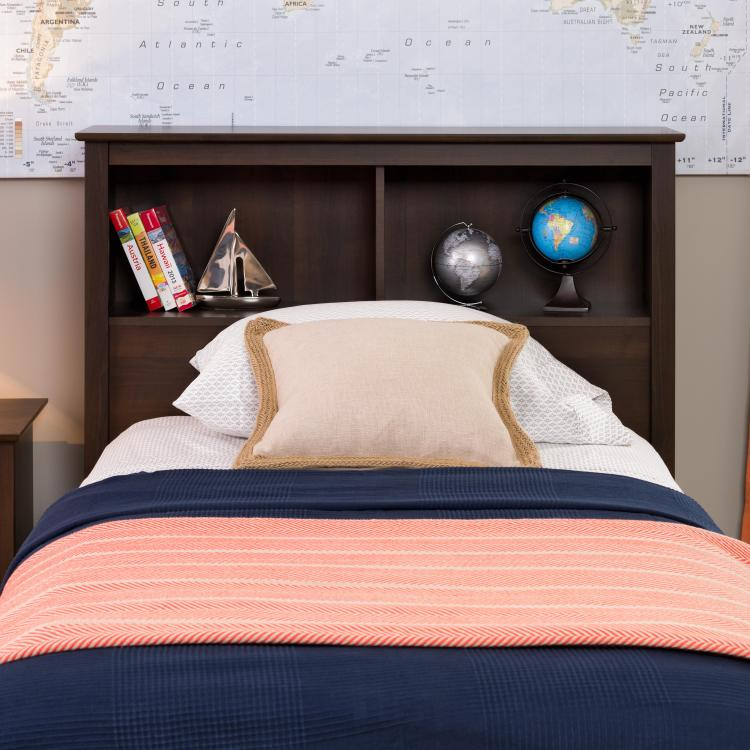 Prepac Sonoma Storage Headboard