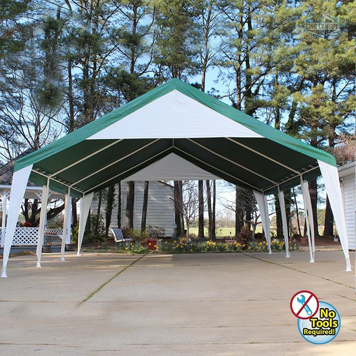 King Canopy Event Tent with Cover [Item # ET2020G]