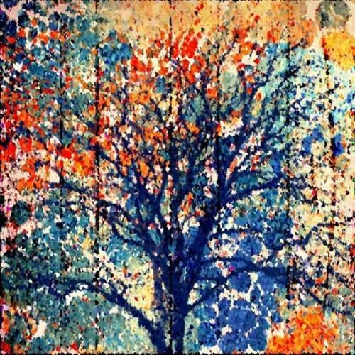 Fall Season Painting Print on Wrapped Canvas