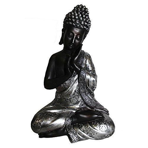 Uniquely Styled Buddha - Polyresin