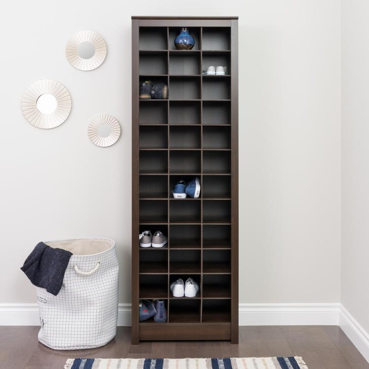 Space-Saving Shoe Storage Cabinet
