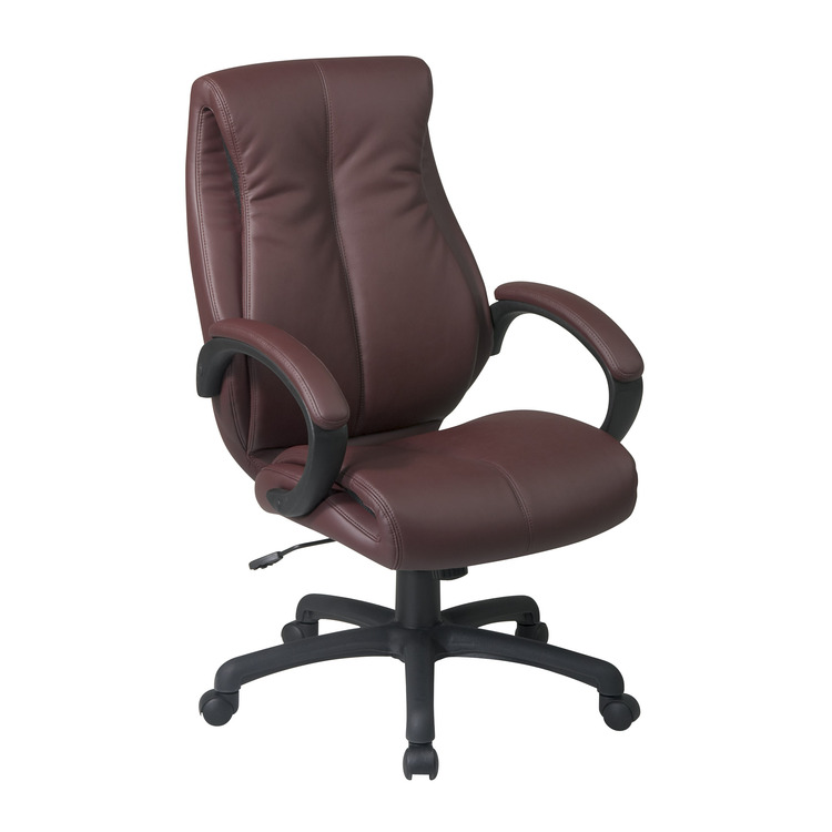 Deluxe High Back Executive Deluxe Coated Leather Chair