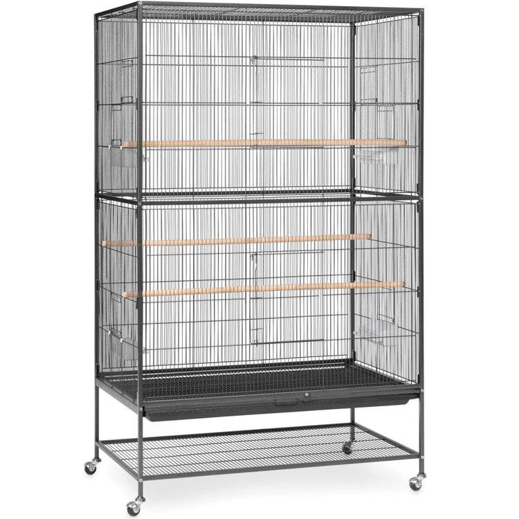 Prevue Pet Products Wrought Iron Flight Cage Hammertone