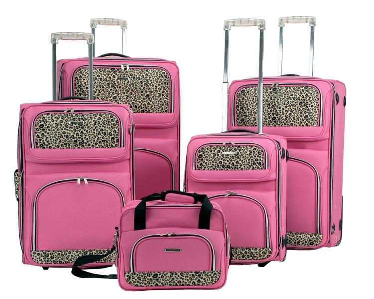 5Pc Spinner Luggage Set