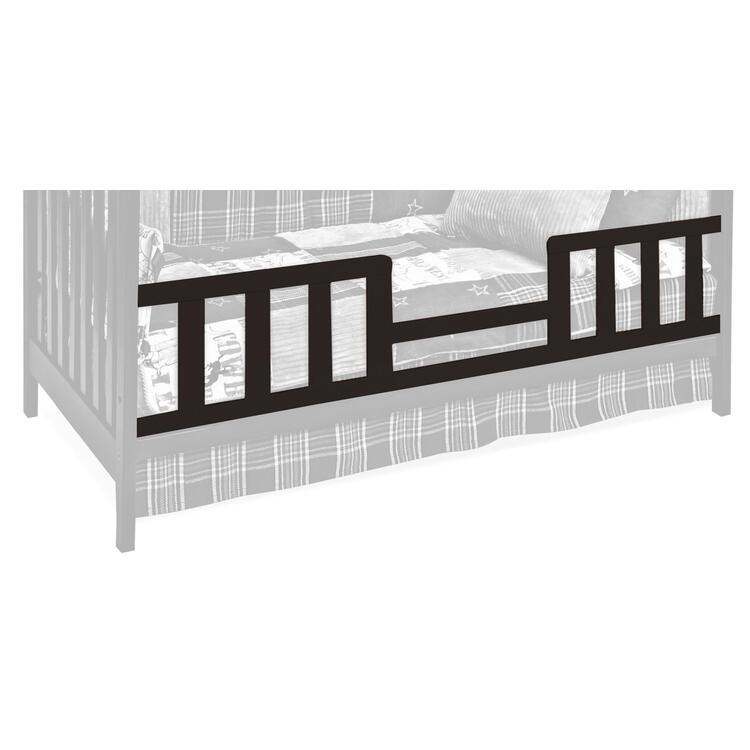 Toddler Guard Rail for Convertible Crib