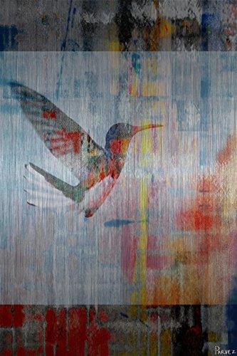 Access Subconscious by Parvez Taj Painting Print on Brushed Aluminum