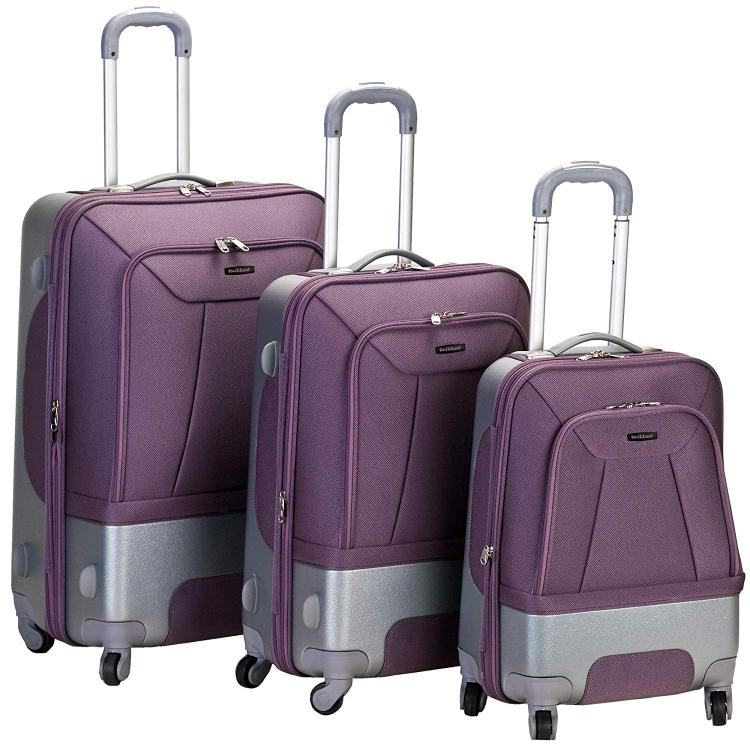 Rockland Luggage Rome 3 Pc Luggage Set
