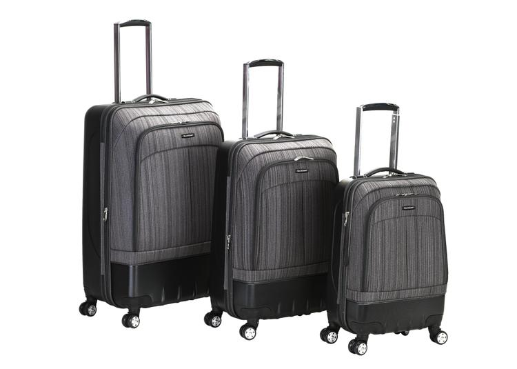 Milan Hybrid Eva/Abs Luggage Set