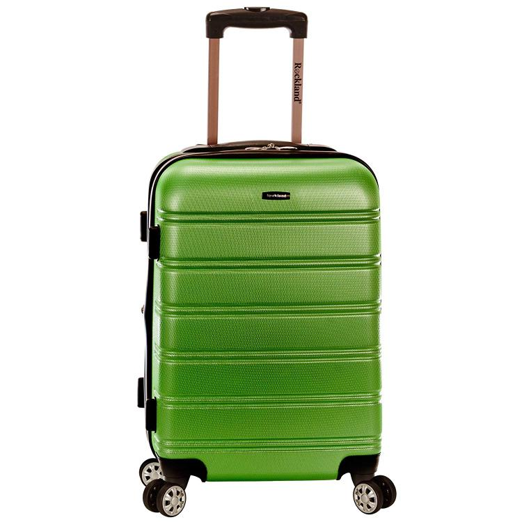 Rockland Melbourne Expandable Abs Carry On