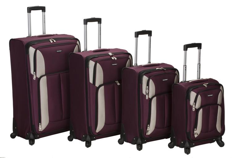 Rockland Impact Spinner Luggage Set