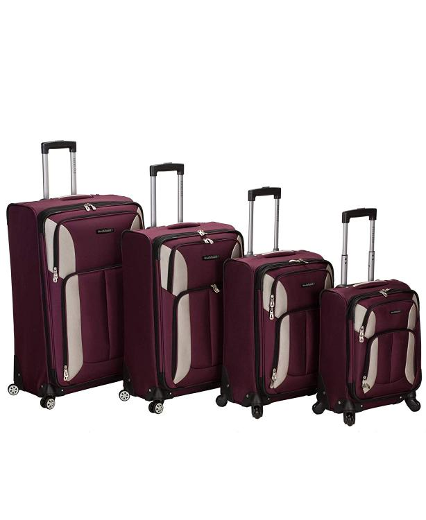 Rockland Impact Spinner Luggage Set