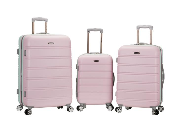 Rockland Melbourne Abs Luggage Set