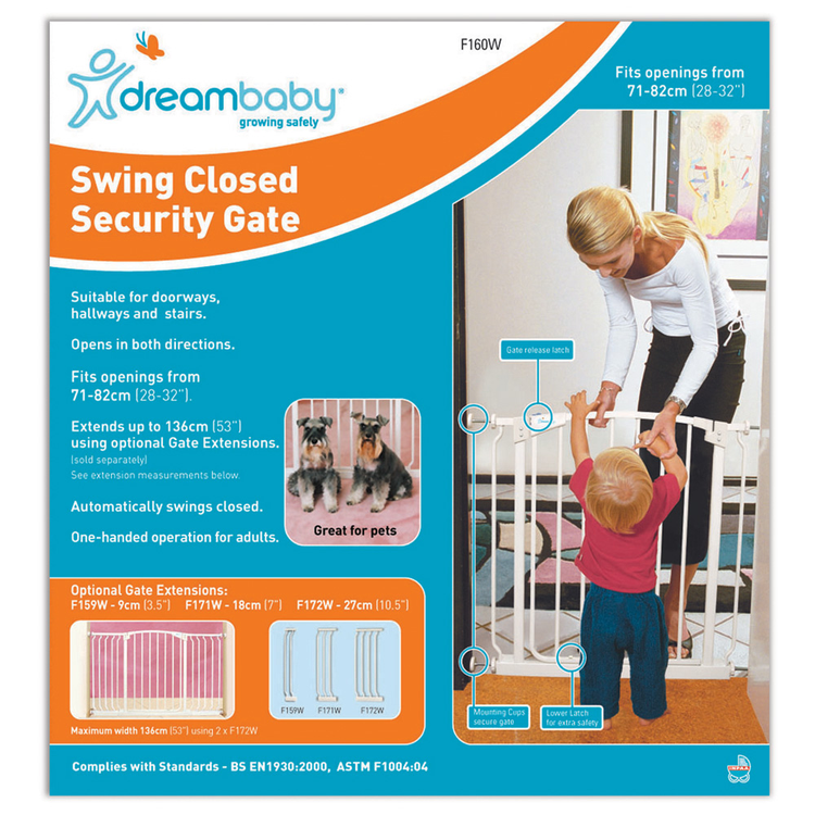 Dreambaby Chelsea Swing Close Gate