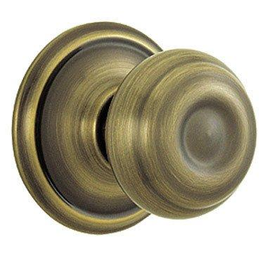 Schlage F170 Georgian Half Dummy Antique Brass Finish - [F170GEO609A]