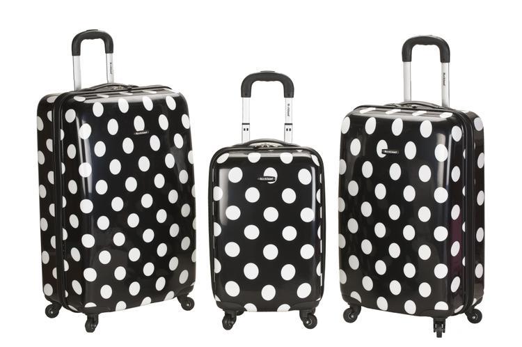 Rockland Luggage 3 Piece Laguna Beach Luggage Set