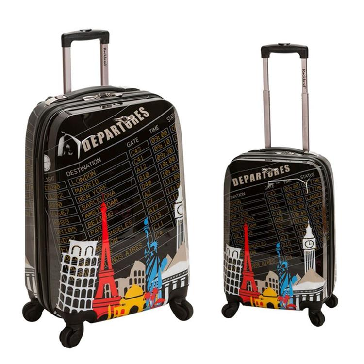 Rockland Polycarbonate/Abs Upright Luggage Set [Item # F212-DEPARTURE]