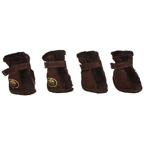 Fashion Plush Premium Fur-Comfort Suede Supportive Pet Shoes