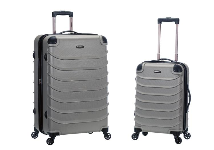 Rockland Speciale 2-Pc Expandable ABS Spinner Set