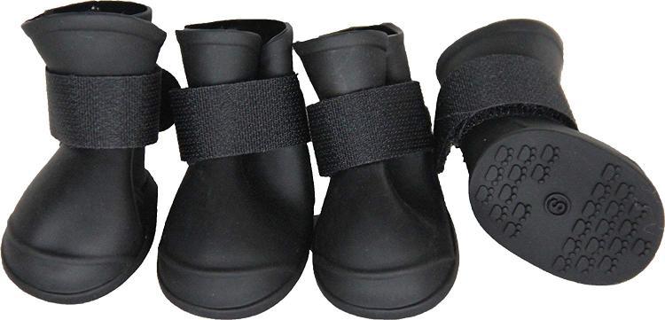 Pet Life Elastic Protective Multi-Usage All-Terrain Rubberized Dog Shoes