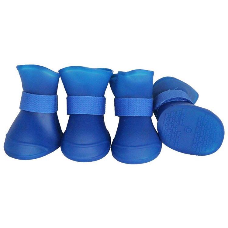 Elastic Protective Multi-Usage All-Terrain Rubberized Dog Shoes
