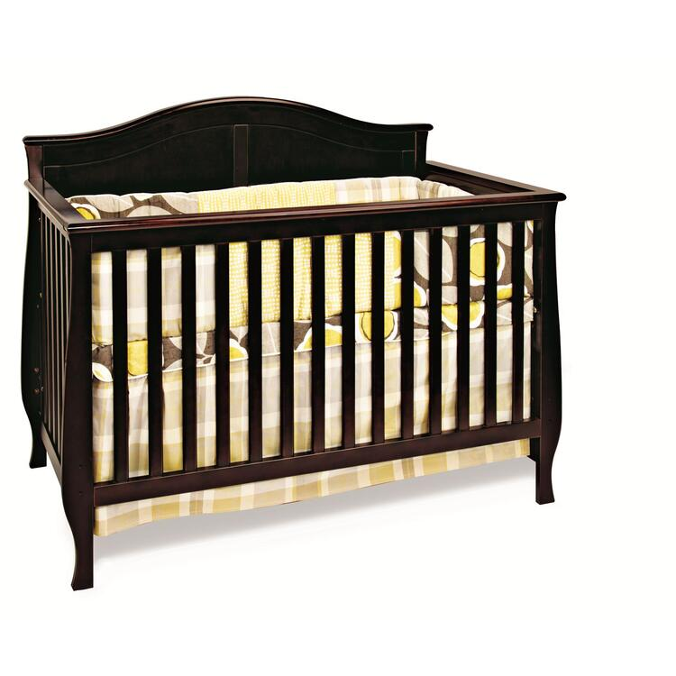 Child Craft Camden 4-in-1 Convertible Crib Jamocha