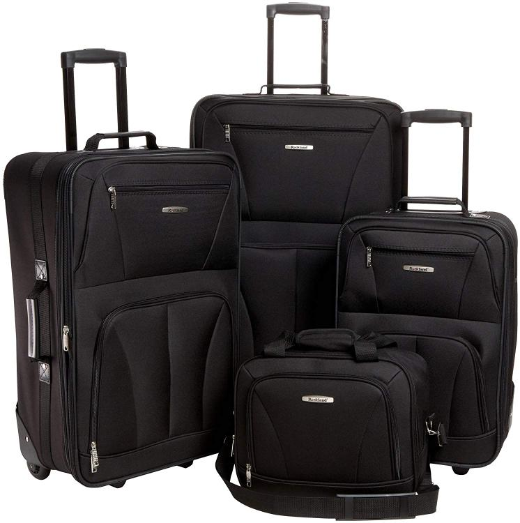 Rockland Expandable Spectra 3-Piece Luggage Set