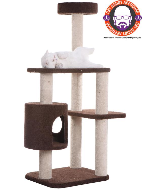 Premium Carpeted Cat Tree Model F5502 [Item # F5502]