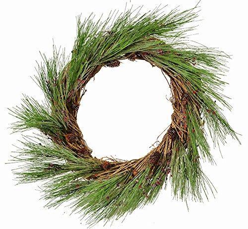 Ice Pine Wreath