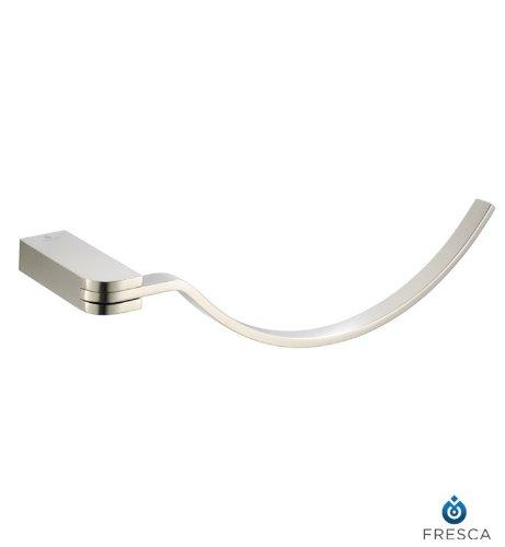 Fresca Solido Towel Ring - Brushed Nickel