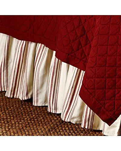 Prescott Stripe Bedskirt, 17