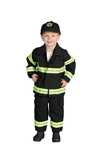 Jr. Fire Fighter Suit, size 18Month (Black)