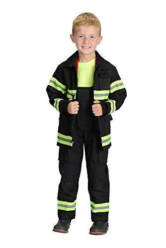 Jr. Fire Fighter Suit, size 2/3 (Black)