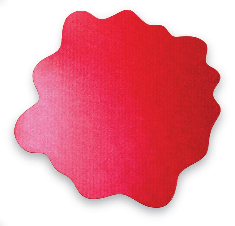 Sploshmat |Multi-Purpose Mat for Young Families | Highchair and Play Mat | Gripper Back for Carpet Flooring | Red | Size: 40