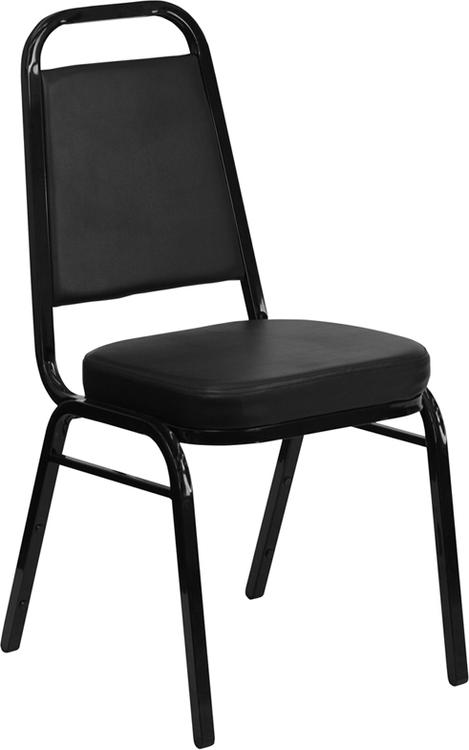 Hercules Series Trapezoidal Back Stacking Banquet Chair