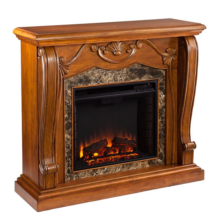 Southern Enterprises Cardona Electric Fireplace