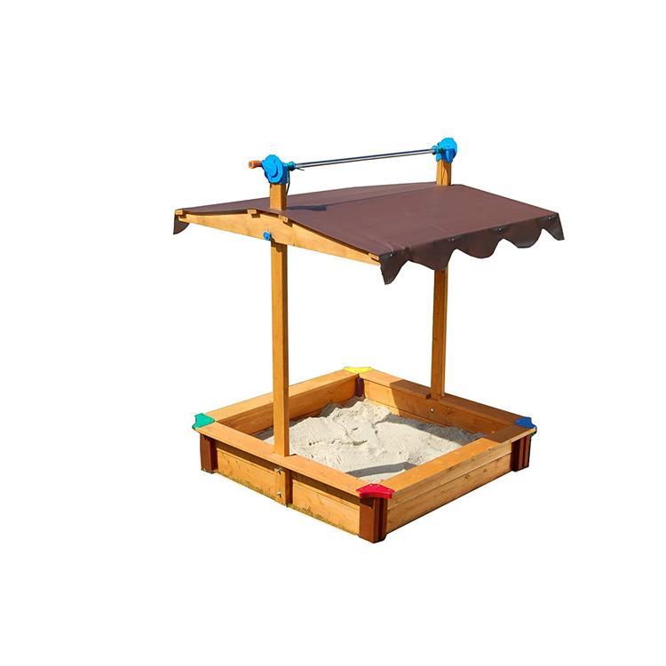 Exaco FELIX Sandbox with Adjustable Roof