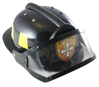 Adult Fire Fighter, HELMET ONLY, Black