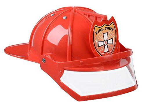 Adult Fire Fighter, HELMET ONLY, Red