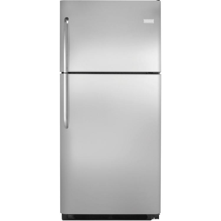 21 Cu. Ft. Top Mount Refrigerator – Stainless Steel